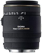MACRO 70mm f/2.8 EX DG Autofocus Lens for Nikon AF