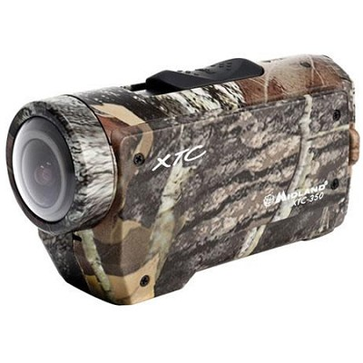 XTC350VP4 - XTC Wearable Action Video Camera, 1080p HD Recording, Camouflage