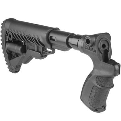 AR15/M4 Collapsible Buttstock w/ Shock Absorber for Mossberg 500 AGM500-FKSB