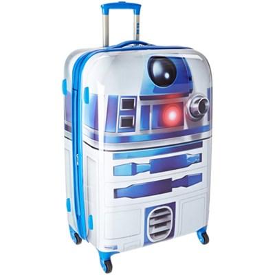 28` Hardside Spinner Suitcase (Star Wars R2D2)