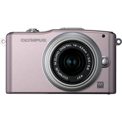 E-PM1 Pink w/14-42mm Lens - OPEN BOX
