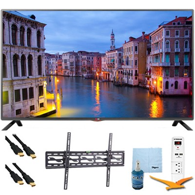 42LB5600 - 42-Inch Full HD 1080p LED HDTV Plus Tilt Mount & Hook-Up Bundle