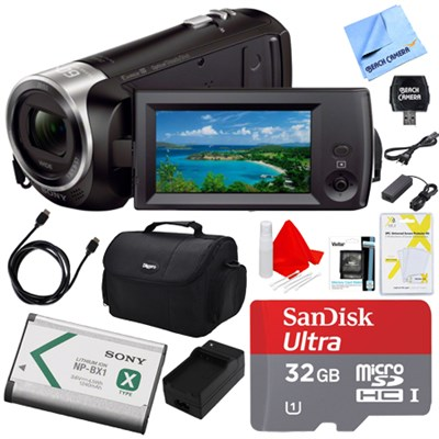 HDR-CX405/B Camcorder Deluxe Bundle
