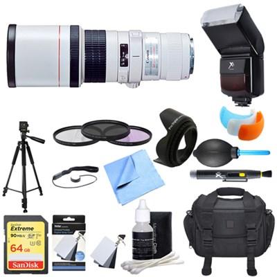 EF 400mm 5.6 L USM Lens Ultimate Accessory Bundle