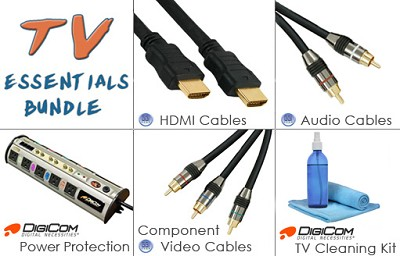 HDTV Essentials Super Savings Bundle