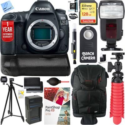 EOS 5D Mark IV 30.4 MP DSLR Camera (Body Only) & Canon BG-E20 Battery Grip Kit
