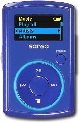 Clip MP3 Player 2GB - Blue