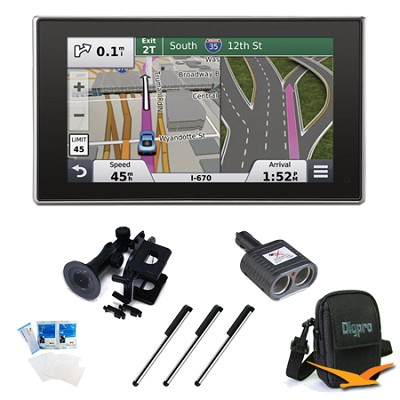 nuvi 3597LMTHD 5` Bluetooth GPS with Lifetime Maps and Traffic Essentials Bundle