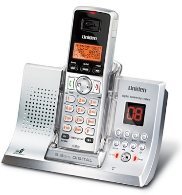 TRU9380  5.8GHz Expandable Cordless System with Digital Answering System