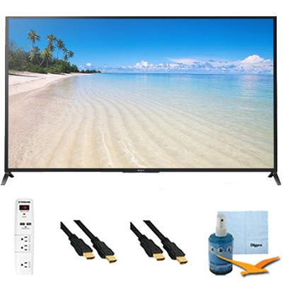 70` 1080p 120Hz 3D LED HDTV Motionflow XR 480 Wifi Plus HookUp Bundle KDL70W850B