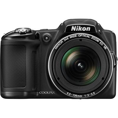 COOLPIX L830 16MP 34x Opt Zoom Digital Camera - Black (Certified Refurbished)
