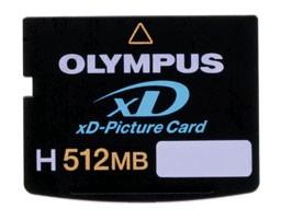 High-Speed H512MB xD Memory Card