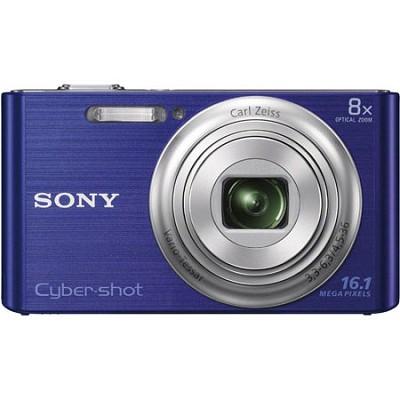 DSCW730 16 MP 2.7-Inch LCD Digital Camera - Blue - OPEN BOX