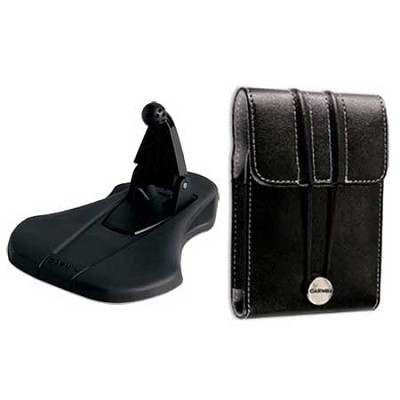 Style Friction Mount with Universal Carrying Case for GPS