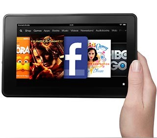 Kindle Fire, 7` LCD Display, Wi-Fi, 8GB