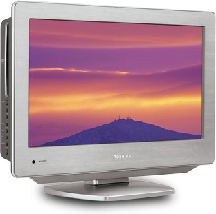 19LV612U - 19` High-definition LCD TV w/ built-in DVD Player, Stainless Steel