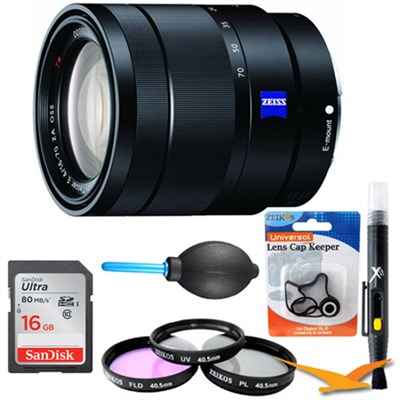SEL1670Z 16-70mm f/4 Mid-Range Zoom Lens Kit