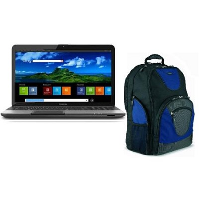 Satellite 17.3` Notebook PC Intel Core i3 Processor with Toshiba Backpack