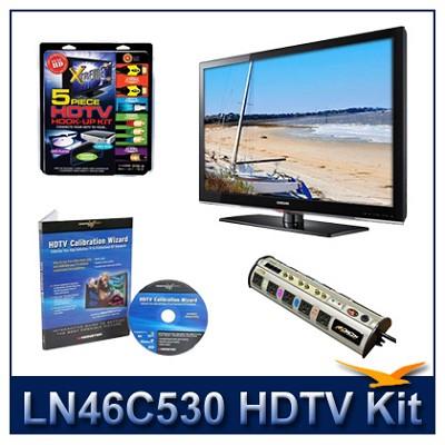 LN46C530 - HDTV + High-performance Hook-up Kit + Power Protection + Calibration