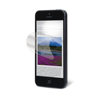 Natural View NVAG828762 Anti-Glare Screen Protector for iPhone 5 - 1 Pack