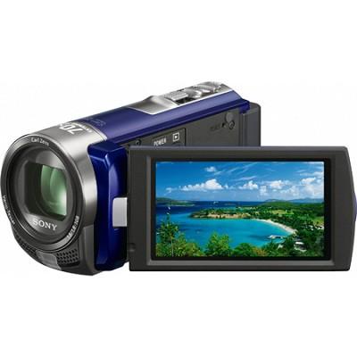 Handycam DCR-SX45 Palm-sized Blue Camcorder