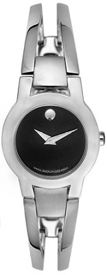 0604759 - Women's Amorosa Stainless Steel Black Dial