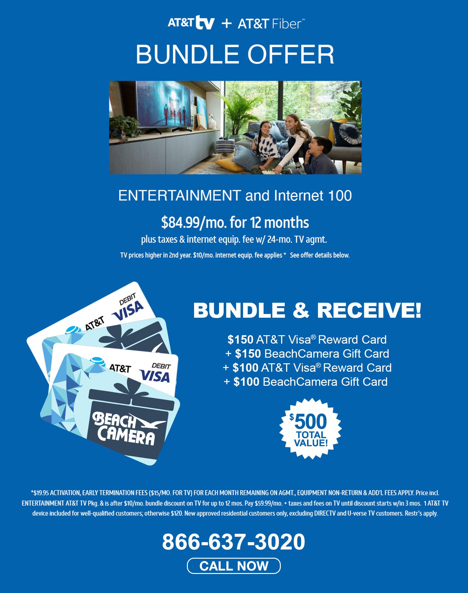 AT&T TV Bundle Offer