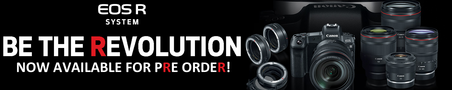 Pre order canon EOS R products